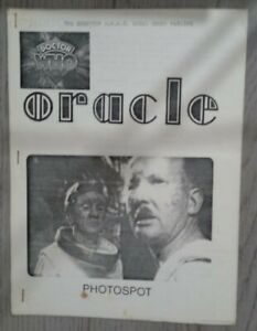 Oracle Issue 5 Doctor Who Fanzine January 1978