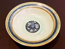 """Vintage Art Pottery Bowl, Signed By Blasdell '78, 8 1/2"""" Diameter X 2 1/2"""" High"""
