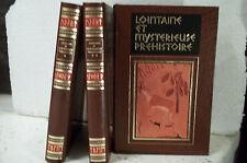 Oswaldo Ferrero. LOINTAINE ET MYSTÉRIEUSE PRÉHISTOIRE.  3 VOLUMES.