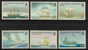 E320 SOLOMON ISLANDS SG1262-1267 2009 Exploration complete set 6v unmounted mint