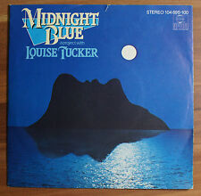 """Single 7"""" Vinyl Midnight Blue - a project with Louise Tucker"""