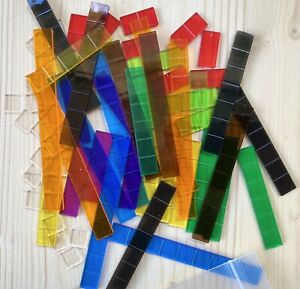 School Mathematics Number Rods for Light Table or the Overhead