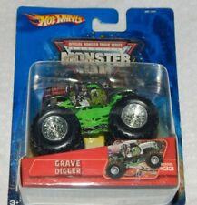 Hot Wheels Monster Jam GRAVE DIGGER - 2005 #33 - Chrome - New