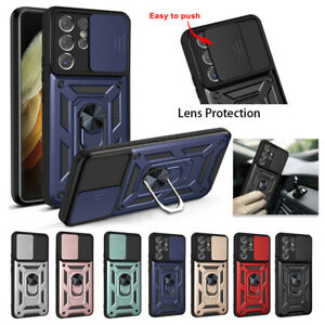 For Samsung Galaxy A22 A32 A12 A03S Case Armor Shockproof Lens Protection Cover