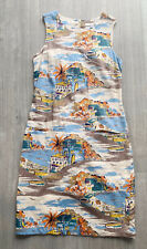 BODEN Spanish Beach Short Sleeve A Line Dress Size 8 L Holiday Occasion