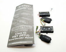 HORNBY EX R3390TTS DIGITAL HST CLASS 43 TTS SOUND DECODERS AND SPEAKERS  *NEW*