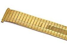 SPEIDEL 18-22MM GOLD TWIST O FLEX STRETCH METAL EXPANSION STRAP WATCH BAND