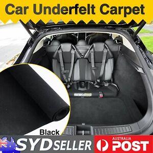 Auto Carpet Van SUV Cargo Boot Lining Replacement 1.8M x 2M Black Felt Materials