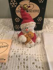 Sarah's Attic Snowonders Figurine 1998- December J Bell #6411