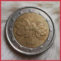 ____2 Euro Münze🦜____ ____Finnland 2001____ ____❗Fehlprägung❗____