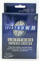 Channel 4 TV Countdown Letters Travel Family Card Game Toy ENGLISH