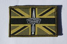 Royal Marine Commando Morale Subdued Union Flag Velcro Patch - No236