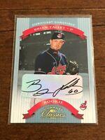 2002 Donruss Classics Baseball Rookie Autograph - Brian Tallet RC - Indians