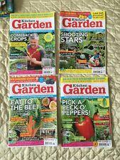 Kitchen Garden Magazines x 4