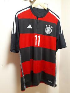 KLOSE GERMANY 2014 ADIDAS JERSEY - size L
