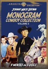 MONOGRAM COWBOY COLLECTION 3: JOHNNY MACK BROWN Region Free DVD - Sealed