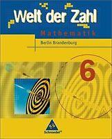 Welt der Zahl - Ausgabe 2005 für das 5. und 6. Schuljahr... | Buch | Zustand gut