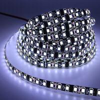 5M black PCB 3528 2835 SMD strip light waterproof 300/600 LED Ribbon Tape lamp