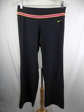Womens Nike Dri Fit Sz M Live Strong Black Pink Yellow Jogging Running Pants