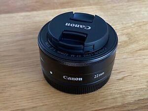 Canon EF-M 22 mm F/2.0 STM Objektiv EOS M