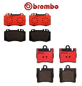 Brembo Front and Rear Ceramic Brake Pads Kit For Mercedes CL500 CL55 AMG CL600