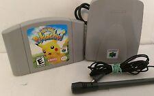 Hey You, Pikachu! N64 Mic and VRU included (Nintendo 64, 2000)