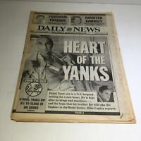 NY Daily News: Oct 13 1996 Hearts Of The Yanks