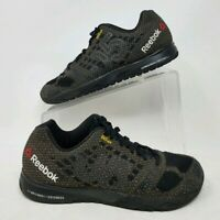 Reebok Crossfit Nano 5.0 V67614 BlacGravel Kevlar Training Shoes Size 8