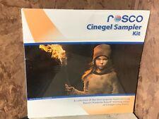 "Rosco Cinegel Sampler Filter Kit 15x (12"" x 12'') Sealed Photography Video"