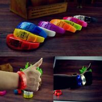Control Concert Sound Activated Glow Wristbands Flash Bangle LED Bracelet