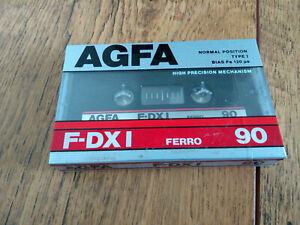 AGFA F-DXI 90 BRAND NEW AND SEALED CASSETTE TAPE