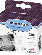 Scrapbook Adhesive 250 Piece Clear Creative Photo Corners EXCELLENT QUALITY
