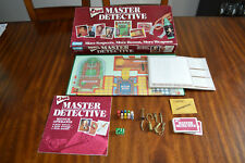 Clue Master Detective 1988 Parker Brothers Board Game 100% COMPLETE