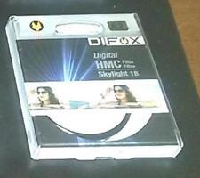 DIFOX FILTRO OBJETIVO 62 HMC 3 CAPA UV SKYLIGHT