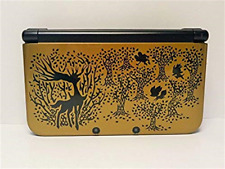 NINTENDO 3DS LL XL Pocket Monsters X pack Premium Gold Limited Edition USED F/S