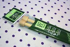 """Clover 8mm #11 Premium Takumi Bamboo 14"""" Knitting Needles Wooden 3012/11 NEW"""