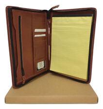 Cuero De Regalo Personalizado de dejar cartera de carpeta A4 nombre y mensaje PA125