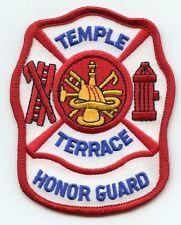 TEMPLE TERRACE FLORIDA FL Honor Guard FIRE PATCH