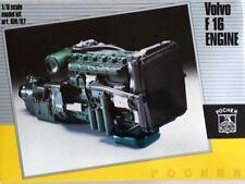 POCHER VOLVO F16 ENGINE - 1/8 SCALE MODEL KIT KM/87 /// KM 87 /// Brand new
