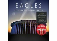 Eagles - Live From the Forum MMXVIII Target Exclusive Double CD w/ Tour Laminate