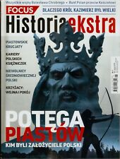 POLISH MAGAZINES  FOCUS HISTORIA EKSTRA NR 2 ROK 2018 POTĘGA PIASTÓW