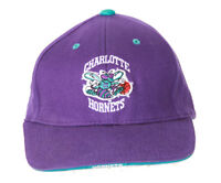 Charlotte Hornets NBA Twins Enterprise Snapback Hat, Purple + GT Wristband
