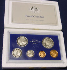 1980 Australian Proof set complete with foams and certificate.