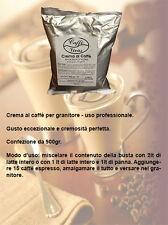 Crema al caffè fredda per BAR uso professionale con granitore 900gr.