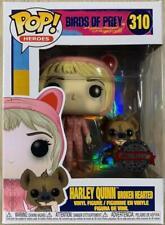 NUOVO DC COMICS ARDENTE Harley Quinn POP Figura in vinile #166 cm Funko ufficiale