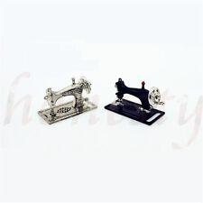 Dollhouse Miniature Model Mini Sewing Machine Head Home Decor Scene Model Gift