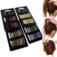 24pcs Hairpin Women Hair Jewelry Bobby Pin Clip Hairpin Gold Side Folder