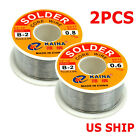 60-40 Tin Rosin Core Solder Wire For Electrical Soldering Sn60 Flux 0.6mm 100g