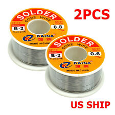 60 40 Tin Rosin Core Solder Wire For Electrical Soldering Sn60 Flux 06mm 100g