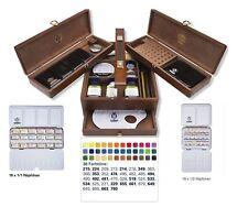 SCHMINCKE Horadam Artists Acquerello intero & Half Pan in legno Box Set - 74724097